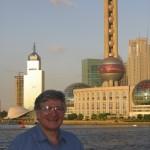 Eugene Marlow in Bund, Shanghai