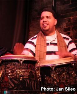 Oba Allende, Percussion