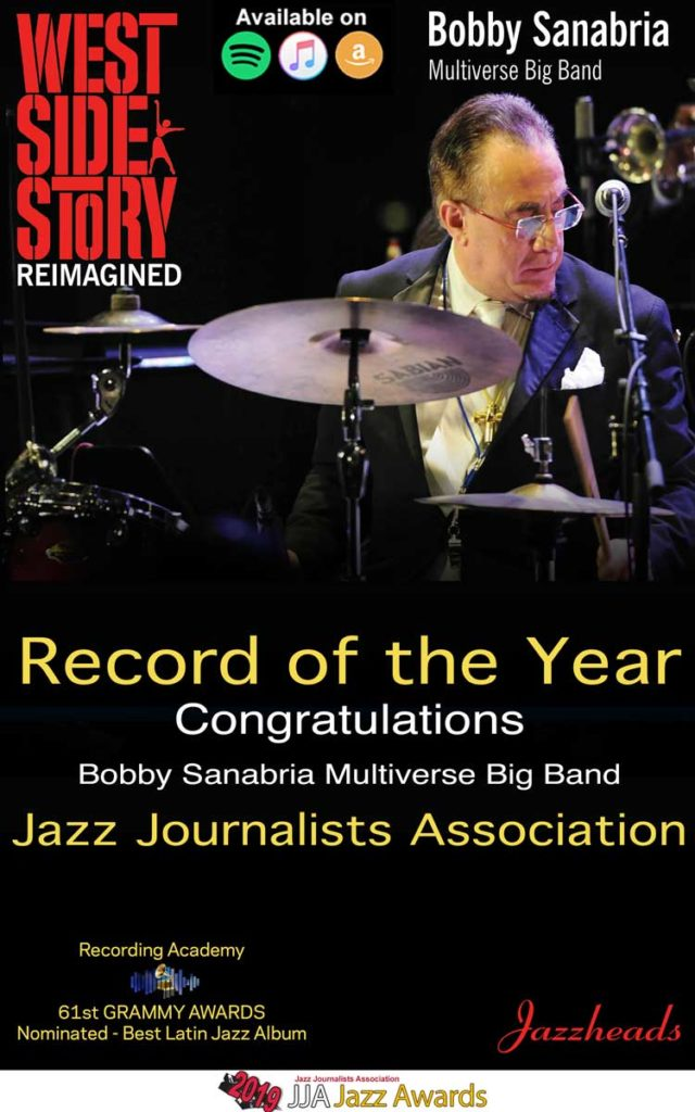 "Album of the Year: ""West Side Story Reimagined"" Bobby Sanabria Multiverse Big Band"