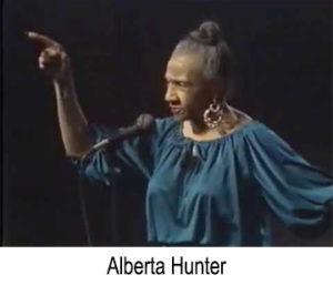 Alberta Hunter, Blues Singer