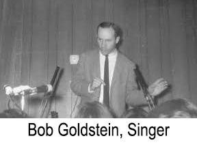 Bob Goldstein, Singer