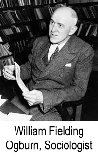 Sociologist William Fielding Ogburn